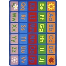 Joy Carpets 1710 Any Day Alphabet Rug