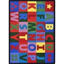 Joy Carpets 1742 Oversize Alphabet Rug
