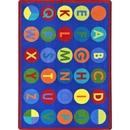 Joy Carpets 1801 Alpha-Dots