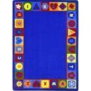 Joy Carpets 1871 Seasons & Shapes Alphabet Rug