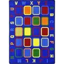 Joy Carpets 1874 Alphabet Tiles