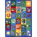 Joy Carpets 1926 Learning Letter Sounds Rug