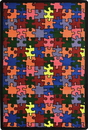 Joy Carpets 57 Puzzled Rug