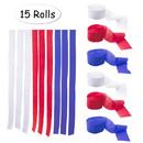 Muka Crepe Paper Rolls Streamers 15 Rolls  - 1.8