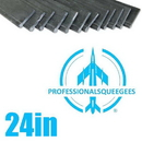 J.Racenstein Rubber Professionalsqueegees 24in(12)SFT