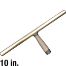 J.Racenstein 10033 T-Bar Fixed 10in Alum Tube