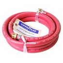 J.Racenstein Hose 1/2in 75ft Red Rubber