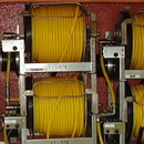 J.Racenstein Hose 3/8in 300ft Yellow Rubber