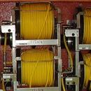 J.Racenstein Hose 3/8in 300ft Yellow Rubber