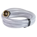 J.Racenstein Hose 1/2in 06ft Clear Braided