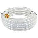 J.Racenstein Hose 1/2in 25ft Clear Braided