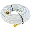 J.Racenstein Hose 3/8in 100ft Clear Braided