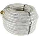 J.Racenstein Hose 5/8in 100ft Clear Braided
