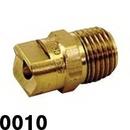 J.Racenstein 0010 Nozzle Tip Brass Soft Wash 0 Deg 0010