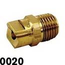 J.Racenstein 0020 Nozzle Tip Brass Soft Wash 0 Deg 0020