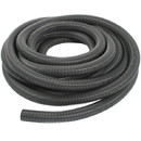 Vacuum Hose 1.5in  50ft Long  without Cuffs Silver