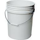 J.Racenstein P9GL010 Bucket HD White 5Gal