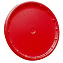 J.Racenstein 6GLDR10 Lid for 5 gal Bucket Red