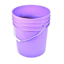 J.Racenstein 5PPL Bucket Purple 5 Gal Round