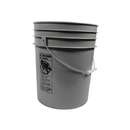 J.Racenstein 5-WINGB Bucket Grey 5Gal Round Matt Finish