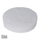 Pad Round 5in Soft White Polish Pad