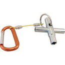 J.Racenstein Water Key 4 Way with carabiner
