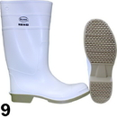 J.Racenstein DIF81012-09 Boot PVC White Size 9