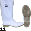 J.Racenstein DIF81012-11 Boot PVC White Size 11