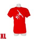 J.Racenstein Red T-Shirt XL Squeegeelution