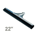 HM550 Floor Squeegee 22in HD w/clamp Unger