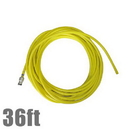 Unger NL11G Hose 36ft w/Adaptor nLite Yellow