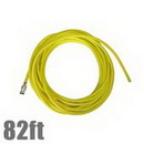 Unger NL25G Hose 82ft w/Adaptor nLite Yellow