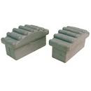 Metallic Ladders LP-R-2.5 Ladder Plugs Rubber (2) Metallic