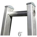 Metallic Ladders WC-60T Ladder Top 06ft Open Metallic