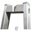 Metallic Ladders WC-6VG Ladder Top 06ft Vee Groove Metallic