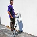 Metallic Ladders WC-6B-P Ladder Base 06ft Metallic