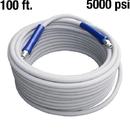 Pressure AHS385 Hose PW 100ft 5000psi 250dg 2W Gray w/QC