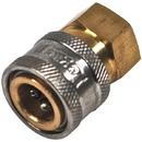 J.Racenstein 9.802.164.0 Coupler 1/4in PW Brass FPT