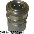 J.Racenstein 8.756-038.0 Plug 3/8 FPT Steel 3500psi Hansen