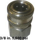 8.709-496.0 Plug 3/8 FPT SS 5500psi Hansen