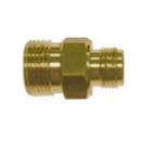 Pressure D10023 M22 Male to 3/8in Male NPT Brass