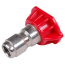 J.Racenstein 8.708.527.0 3.75 0 deg Red SS Nozzle Tip