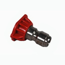 J.Racenstein 8.708.531.0 4.0 0 deg Red SS Nozzle Tip
