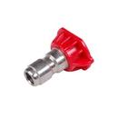 Pressure 900100Q 10.0 0 deg Red SS Nozzle Tip