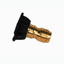 J.Racenstein 8.708-711.0 50 15 deg Black Brass Soap Nozzle Tip