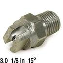 J.Racenstein 8.707-542.1 3.0 Nozzle SS 1/8in 15deg
