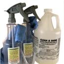 J.Racenstein 83-004 Clean & Shine - 2 Sprayer Disinfectant Kit