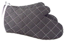 Johnson-Rose 30827 Oven Mitt, Fire Retardant Fabric, Cotton Exterior, Charcoal Color, 17 Overall Length. Made In China.
