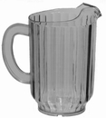 Update International 4160 Water Pitcher 60 oz Clear, S.A.N. Material