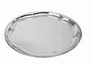 Johnson-Rose 47014 Serving Tray, 14 D, Tin Plated Steel